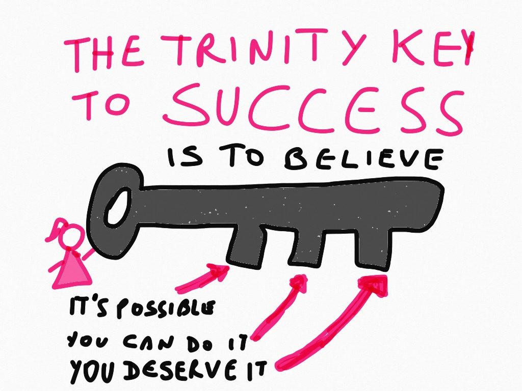 Trinity Key To Success by MariLiza Backstrom