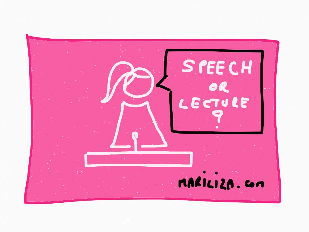 Lecture or Speech by MariLiza Backstrom